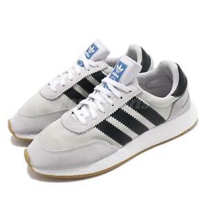 Details about adidas Originals I 5923 Iniki Runner Boost Grey Black White Gum Men Shoes EE4935