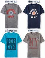 Aeropostale Men's 3xl Appliquéd Graphic T Shirt Xxxl Blue,navy,grey 3x