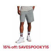 Champion Men's Shorts Pockets Authentic Cotton 9-Inch Gym Workout Warm Jersey