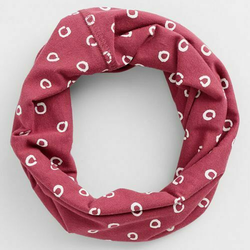 NEW Seasalt Organic Cotton Handyband Snood In Brushed Spot Currant