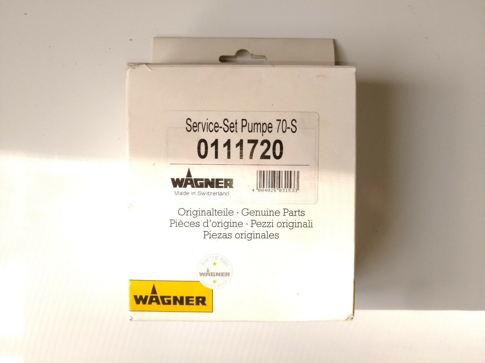 Wagner Airless Pneumatic  Air Powered 30-70 Service-Set Pump Kit No. 0111720