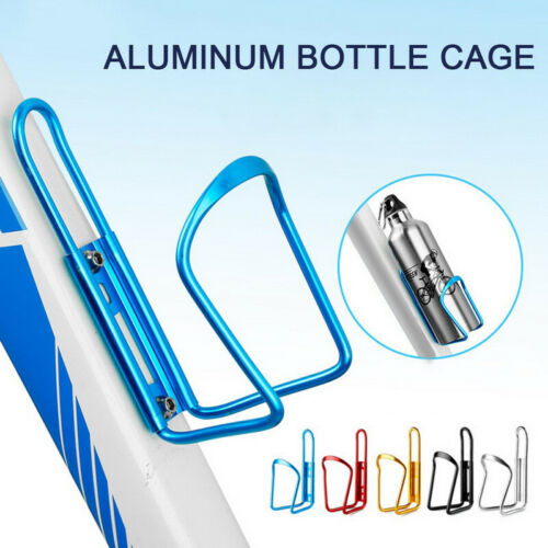 Aluminum Alloy Water Bottle Holder Sports Bike Bicycle Cycling Drink Rack Holder