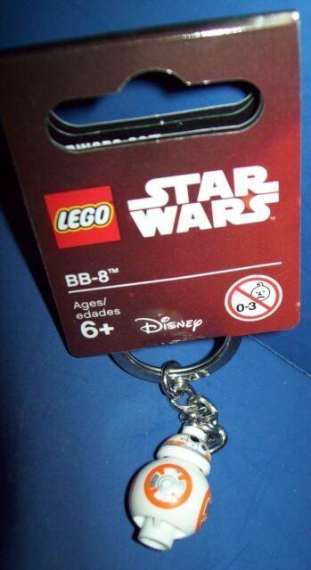 2016 853604 - Star Wars Rare Brand New Lego BB-8 Keyring Free P/&P