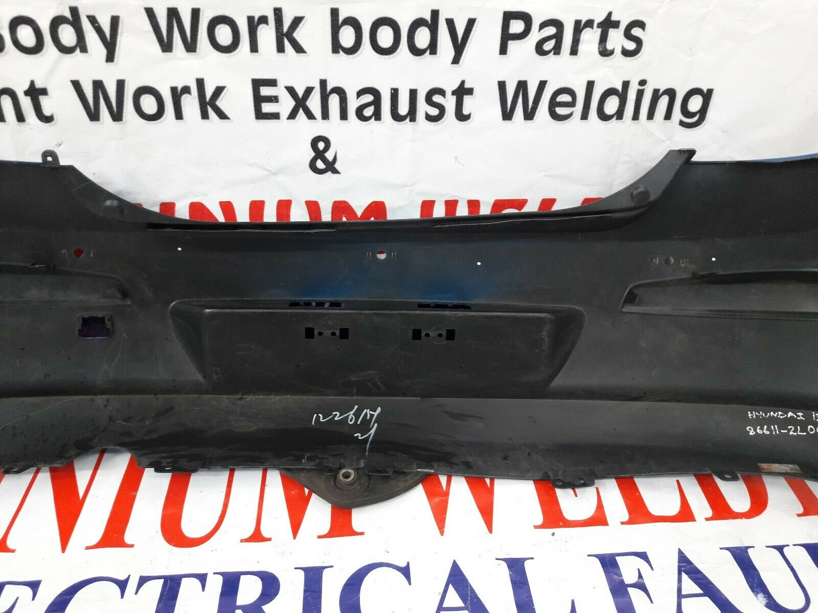 Rear Bumper guard//Scratch Protector for Hyundai i30 FD Hatchback 2007-06.2010