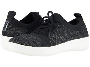 d535638a9a6c Women s Shoes Fitflop F-SPORTY Uberknit Knit Sneakers L39-001 BLACK ...