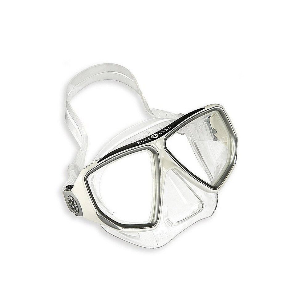 Aqua Lung Diving Mask - Oyster LX Arctic White White