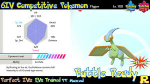 6IV-COMPETITIVE-FLYGON-SHINY-ULTRA-or-NOT-ITEM-SWORD-amp-SHIELD