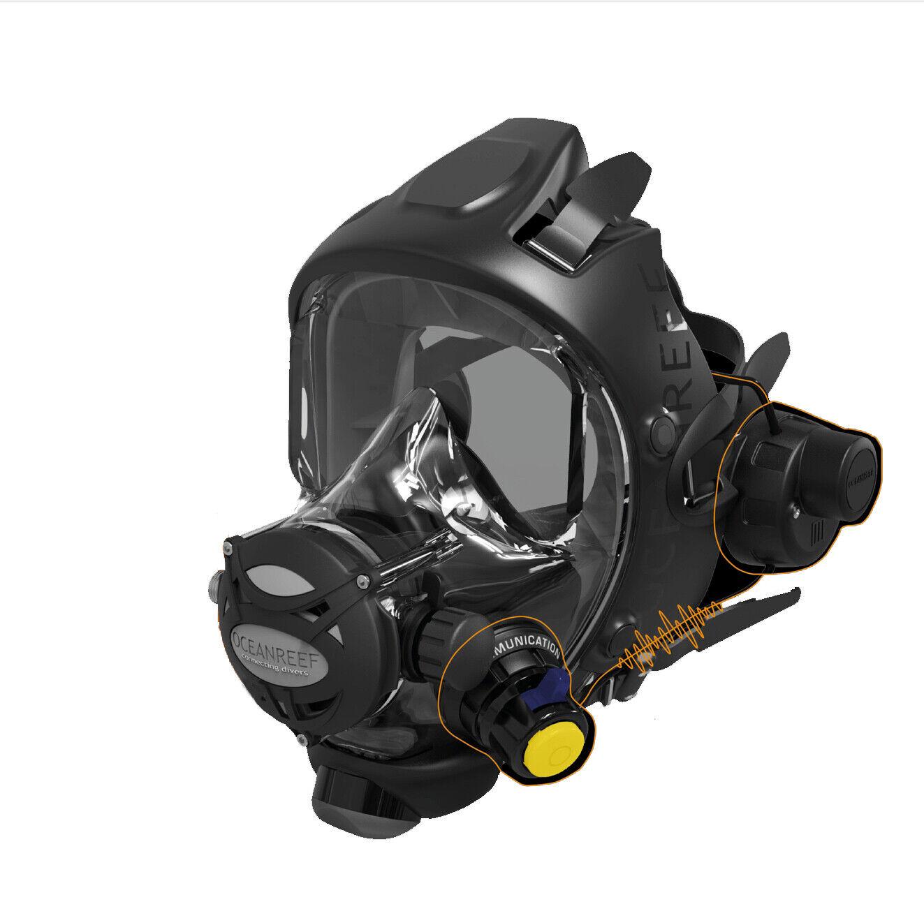 Ocean Reef Gsm Mercury Radio Unterwasser Kommunikation für Voll Tauchmaske
