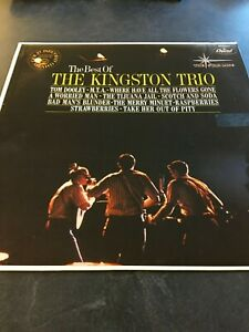 Best-of-the-Kingston-Trio-Vinyl-LP-33-RPM
