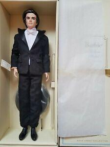 NRFB-Barbie-Silkstone-Ken-Tailored-Tuxedo-Gold-label-Fashion-Model-Collection