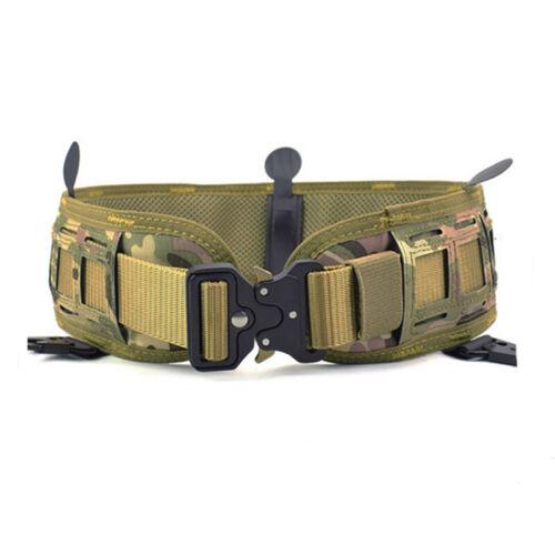 Tactical Outer Waist Belt Padded CS Belt Multi-Use Equipment Wide Belts