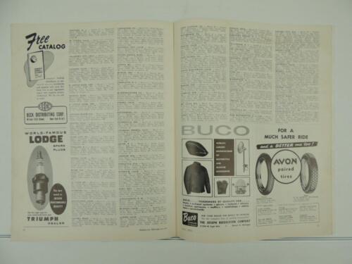 karaoke-jack.jp Vintage May 1959 AMERICAN MOTORCYCLING Magazine ...