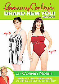 1 of 1 - Rosemary Conley - Brand New You! Work-Out With Coleen Nolan (DVD, 2007) VG 44