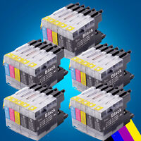 25 Ink Cartridges For Brother LC1240 LC1240 MFC J5910DW J6710DW J6910DW J825DW 2