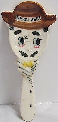 Holt Howard Vintage Whimsical Anthropomorphic Spoon Rest  MAN/WOMAN