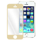 Multi-Color Tempered Glass Screen Protector Guard Cover for Apple iPhone 5 5S 5C