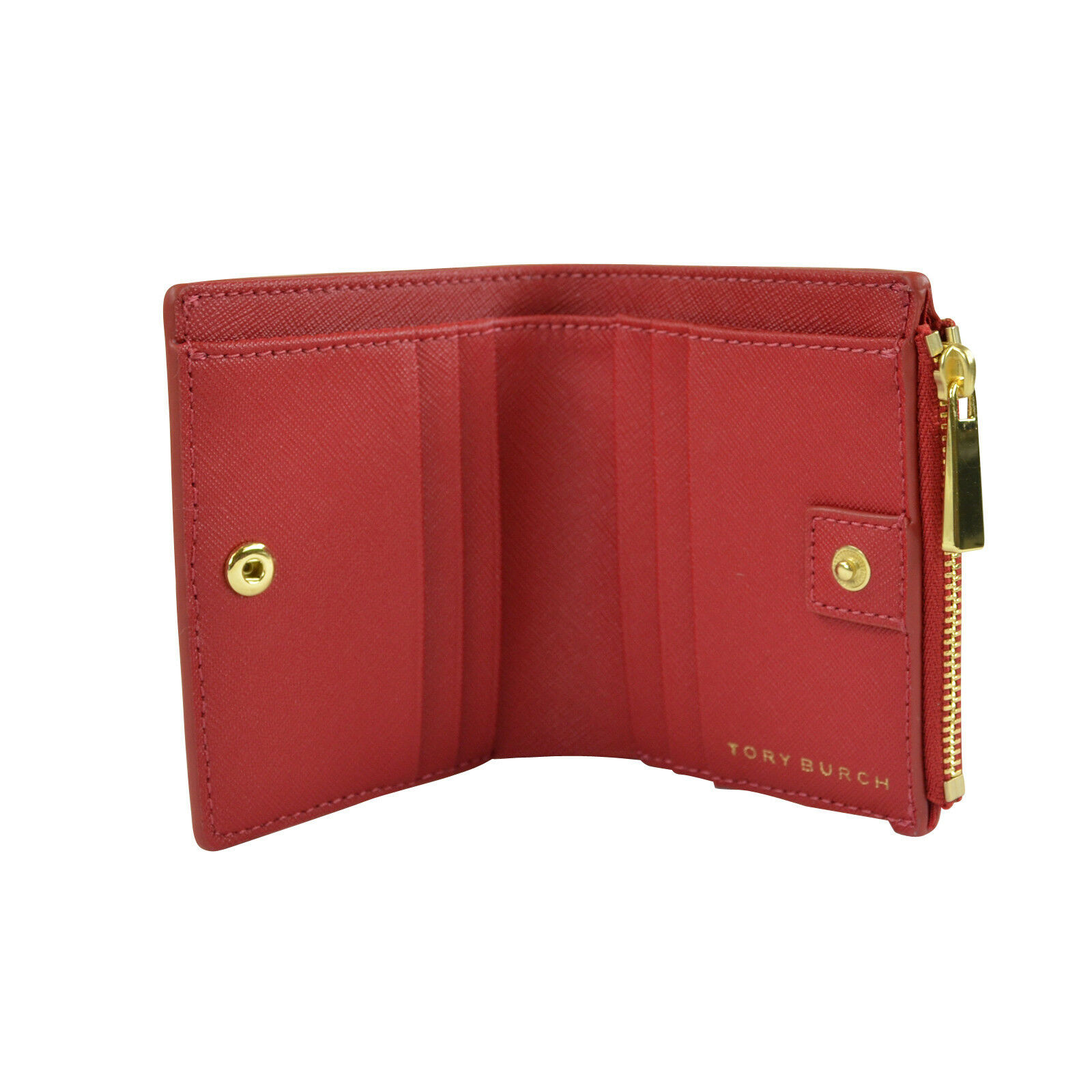 63600a1d5da Tory Burch Robinson Mini Wallet Kir Royale Bifold Christmas Gift for ...