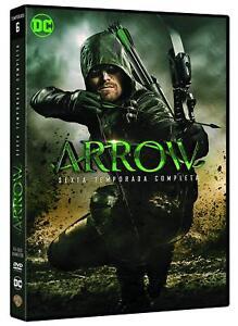 ARROW-6-SESTA-STAGIONE-COMPLETA-5-DVD-SERIE-TV-DC-Comics-ITALIA