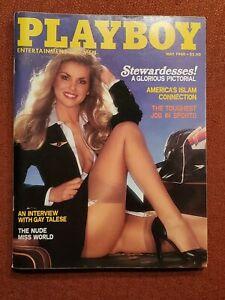 Playboy magazine May 1980 Martha Thomsen stewardesses VERY
