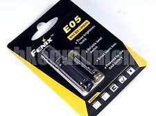 Fenix E05 2014 Cree XP-E2 LED 85lm AAA Pocket EDC Keychain Flashlight Black