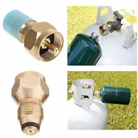 Propane Refill Adapter Tank Gas Cylinder Coupler Lp Heater Camping Fishing Brass on sale
