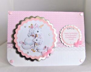 Image Is Loading Handmade Personalised Unicorn 1st 2nd 3rd Etc Birthday