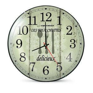 Orologio da parete cucina analogico Wall Clock PARIGI Ø 30 cm NUOVO ...