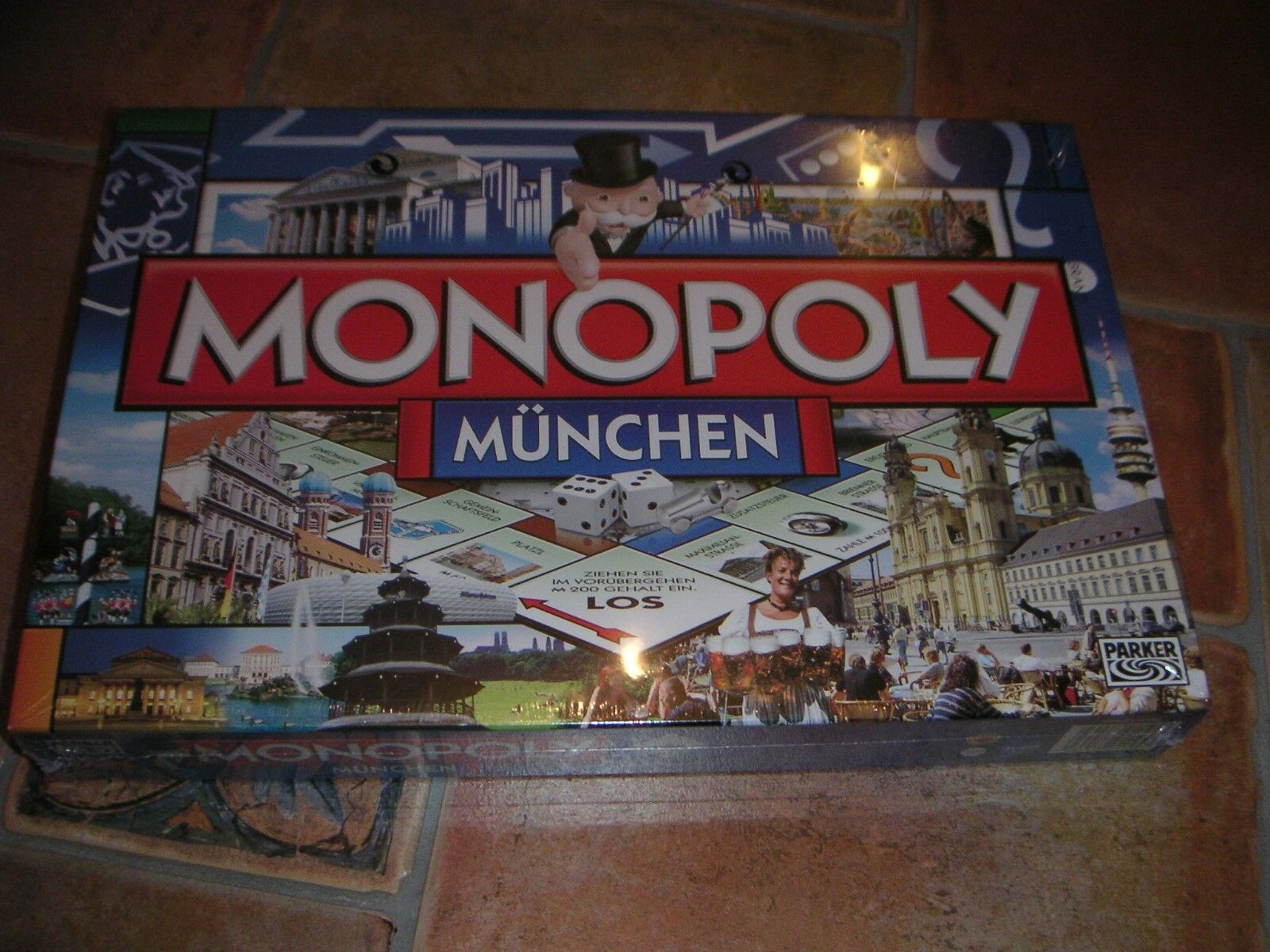 Brettspiel Monopoly München in Folie verpackt gesuchte Sammlerausgabe Sammlerausgabe Sammlerausgabe 334fb9