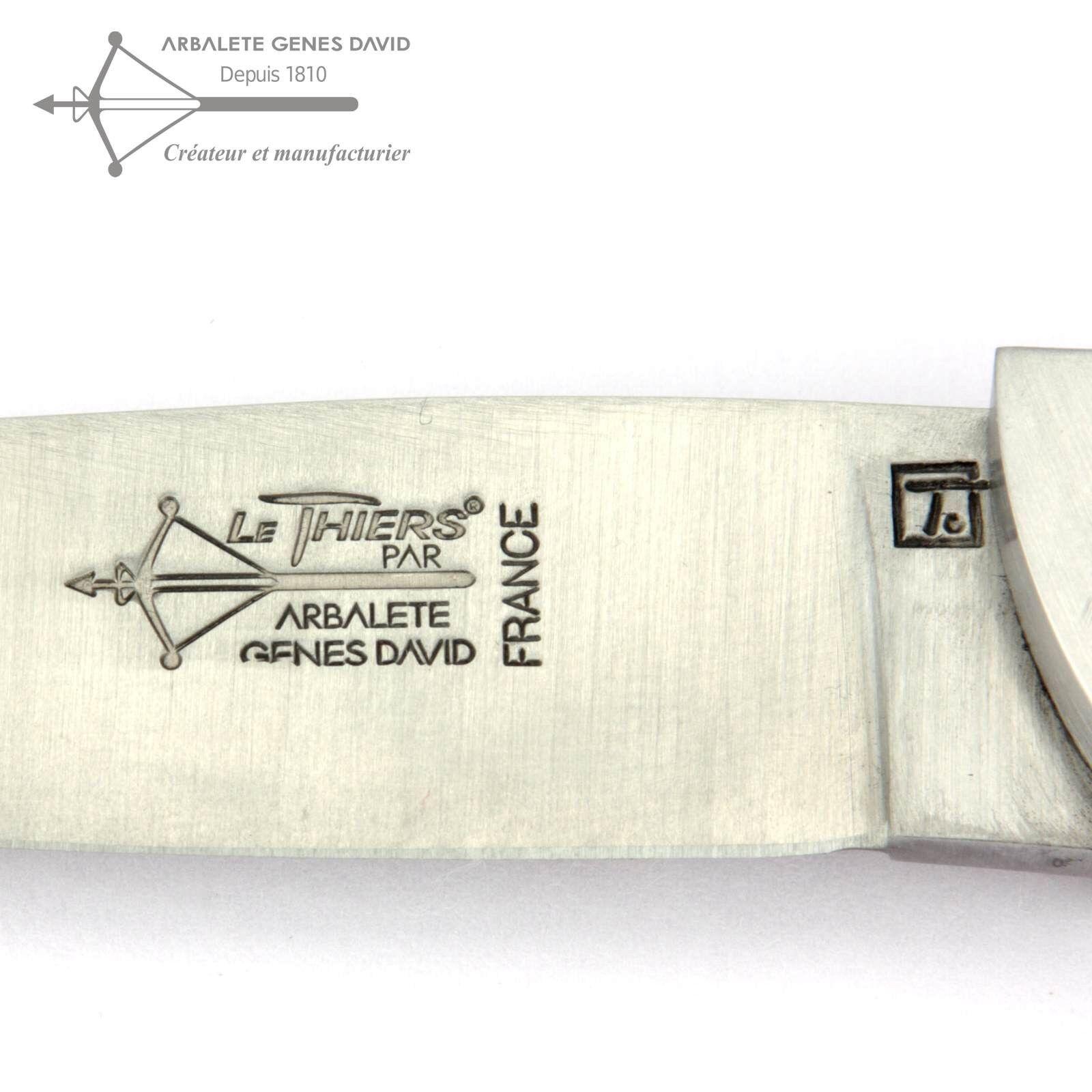 Arbalete G. David David David Thiers Taschenmesser 12 cm Messer T1112CH1/20CAB Griff Eiche afb56f
