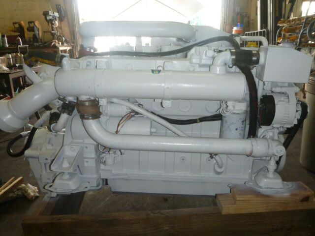 Cummins 6bta Marine Propulsion 330 Hp Diesel Bobtail For Sale Online Ebay