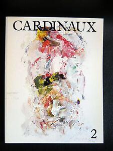 Cardinaux N° 2 Revue Art Litho Jean-luc Parant Gasiorowski Nam June Paik ThomÉ