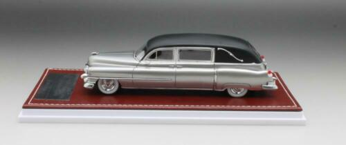 1 43 GIM Matrix Cadillac Superior Landaulet Hearse 1951 silver