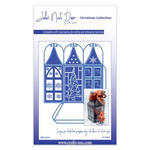 Crafts Too JNDCC019 Free UK p/&p LARGE LANTERN John Next Door Dies