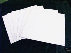 50-Blank-2-5x2-5-inch-Extra-Fine-Texture-Square-Artist-Canvas-Panels-Art-Supply
