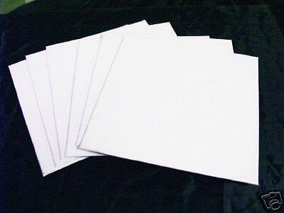 10 2x3 XF Blank Canvas Panels mini Art supply canvases