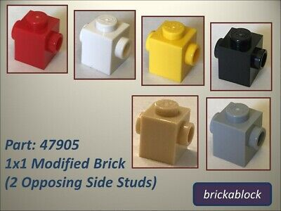FREE P/&P! Pack Size Select Colour LEGO 47905 1X1 Brick with Studs