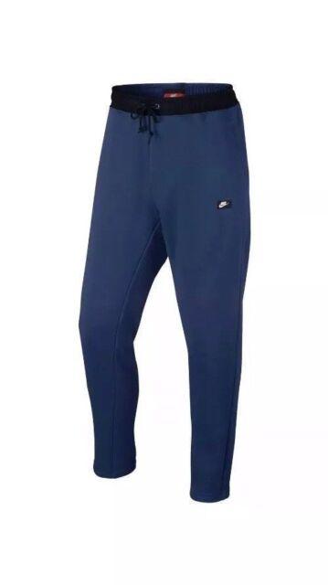 Mens XL Nike Sportswear Modern Jogger Fleece Slim Pants Blue 805168 423