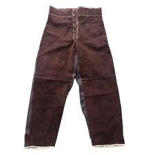 Welding Jacket Heat Fire Resistant Cowhide Leather Welding Suit Clothing