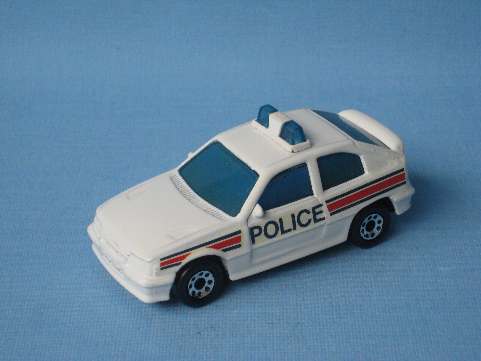Matchbox astra opel kadett voiture de police préproduction rare pré-pro decals