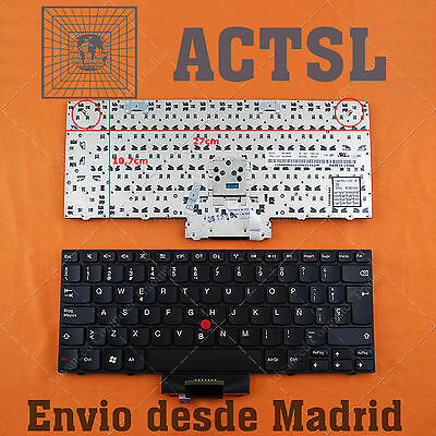 Unito Keyboard Spanish For Lenovo Thinkpad Edge E10 With Point Stick