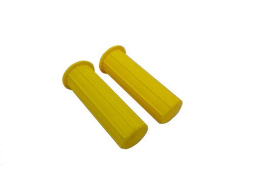 22 mm Giallo CARRIOLA maniglia Grip-Soft Grip Made in UK