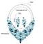 Fashion-Boho-Crystal-Pendant-Choker-Chain-Statement-Necklace-Earrings-Jewelry thumbnail 75