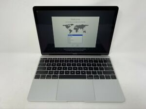 MacBook-12-Silver-Early-2015-1-2GHz-M-8GB-512GB-SSD-Good-Condition-READ