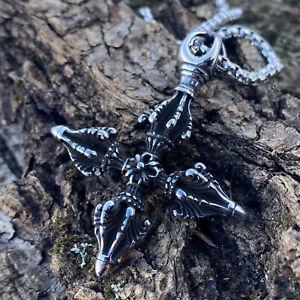 Crossed Khukri pendant