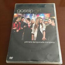 GOSSIP GIRL PRIMERA TEMPORADA COMPLETA - 5 DVD - 722 MIN CON CONTENIDOS EXTRA