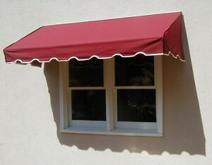 Easyawn Classic Sunbrella Window Door Awning Canopy 7 Yr Warranty