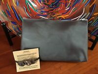 Classic Aveda Make Up Bag & Tagua Nut Pony Tail Holder Set Great For Travel