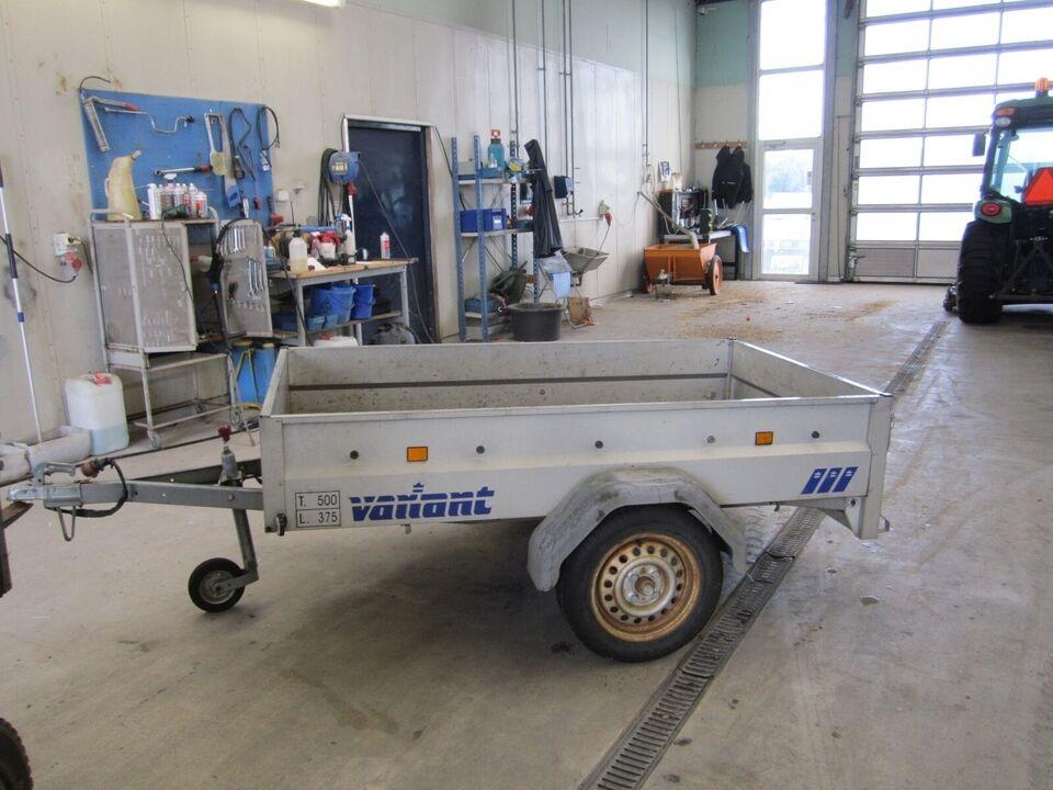 Trailer Variant 205 S1, lastevne (kg): Variant 205 S1