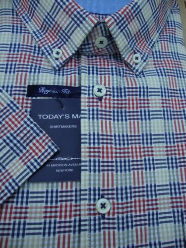 TODAYS Homme 304 chemise en coton à manches courtes 3XL 4XL 5XL 6XL