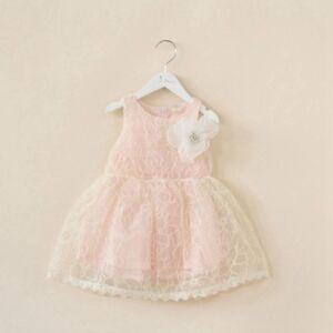 Boutique Kids Tutu Lace Tulle Flower Girls Cream Flowergirl Dress Size 2//3//4//5//6